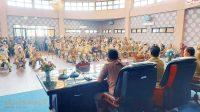 Pimpin Rapat Kerja, Sehan Landjar: Perangkat Desa Jangan Terlibat Politik Praktis