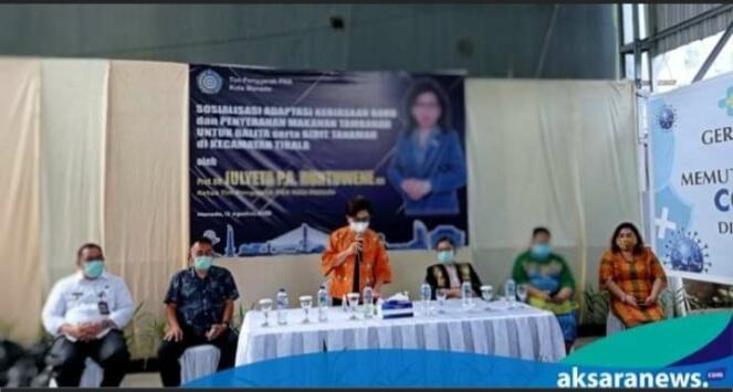 Hadir di Kecamatan Tikala, JPAR Ajak Ibu - Ibu Berperan Aktif Dalam Melawan Covid-19