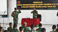 Brigjen TNI Imam Sampurno Setiawan Pimpin Upacara Serah Terima Satgas Yonif RK 732Banau