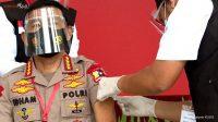 Panglima TNI dan Kapolri Jalani Vaksinasi