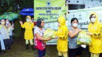 Ikatan Istri Partai Golkar Peduli Bencana Banjir Manado