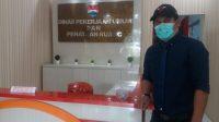 Kepala Dinas PUPR Minahasa Tenggara Rommy Ole ST (AKSARA Foto/Sudirta Lasabuda)