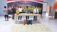 Polres Boltim amankan ratusan liter miras di Tutuyan siap edar