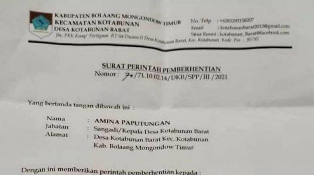 Guru di Boltim dipecat Kepala Desa atas rekomendasi tim pemenangan